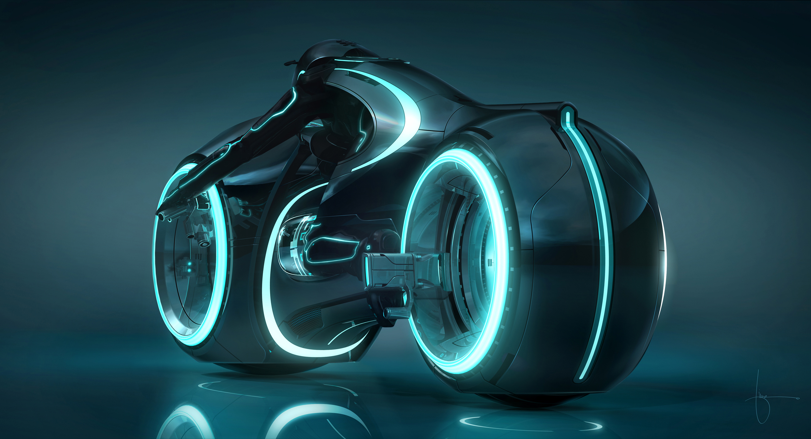 New Official Tron Trailer : UPDATE