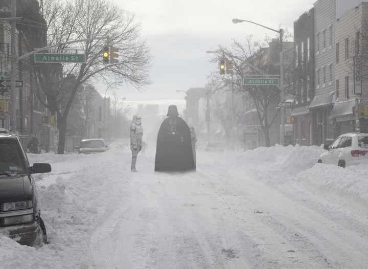 Star Wars Invades New York!