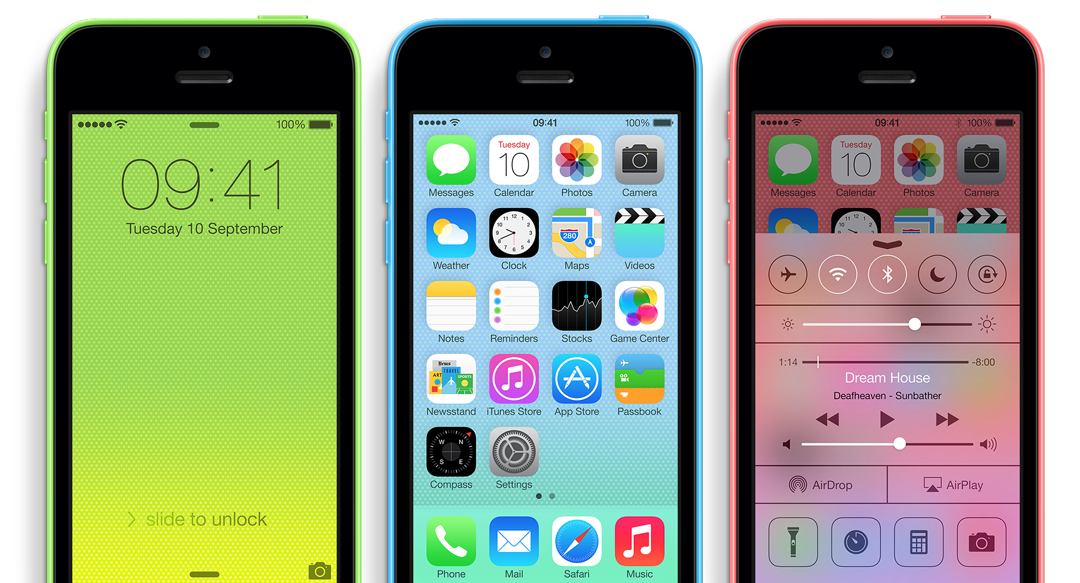 Apple iPhone 5C & 5S