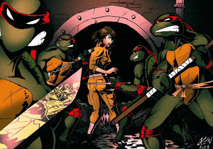 Amazing TMNT Artworks